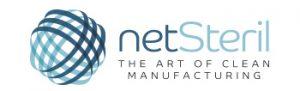 Logo Netsteril distribución de maquinaria para la producción de la industria farmacéutica, médico-sanitaria y ciencias de la vida