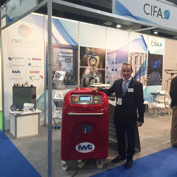 Josep Arcarons Director Comercial Grupo Cifa Consultoría e Instalaciones Farmacéuticas y Alimentarias S.L.
