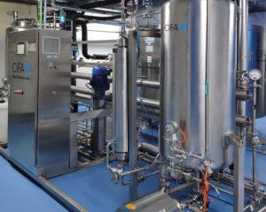 Imagen de una instalación para la industria farmacéutica de CIFA Instalaciones