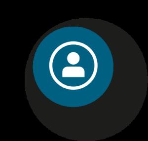 Icono que representa la atención personalizada como una de las claves del servicio de CIFA