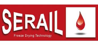 Logo de la marca Serail de liofilizadores industriales GMP y planta piloto representada por Netsteril
