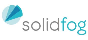 Logo de la marca Solidfog de soluciones para descontaminación con VH2O2 representada por Netsteril