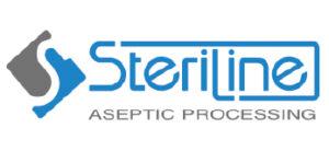 Logo de la marca Steriline de líneas completas de llenado aséptico representada por Netsteril