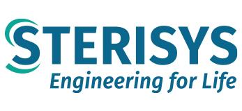 Logo de la marca Sterisys de plantas de esterilización por OE y robots para handling de jeringas anidadas representada por Netsteril