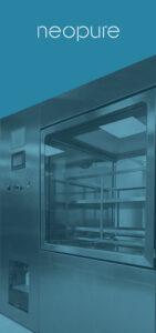 Cámara pass box de biodescontaminación por VH2O2 diseñada y fabricada por Neopure