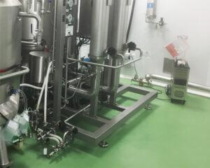 Imagen del proceso de descontaminación de cabinas de seguridad biológica por VH2O2 de CIFA Servicios