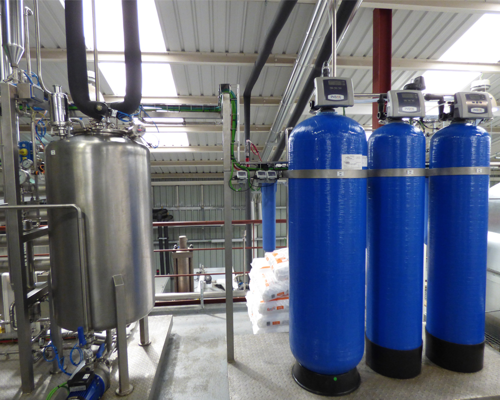 Imagen de una planta de pretratamiento de agua de CIFA Instalaciones