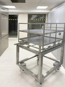 Carro de transferencia de materiales del SAS de biodescontaminación - PB VH2O2 de Neopure