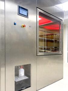 SAS de biodescontaminación - PB VH2O2 de Neopure en fase de alta concentración