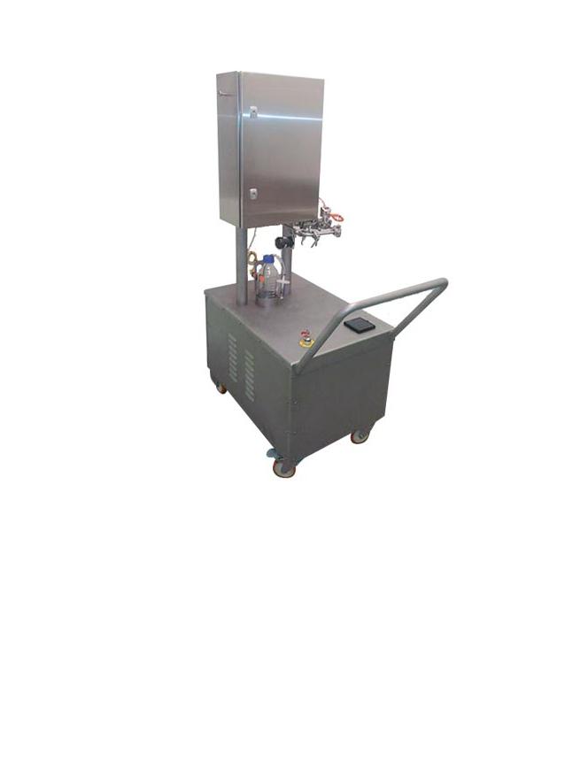 Sistema de toma de muestras de vapor puro de Neopure